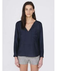 Billy Reid Nadia Top - Lyst