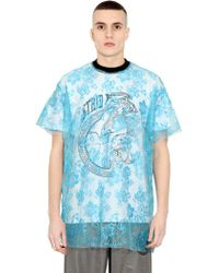 Astrid Andersen Techno Lace Jersey Tshirt - Lyst