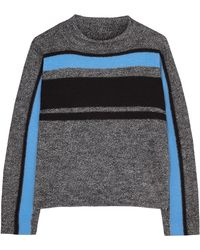 Tibi Boiled Wool Cape Pullover - Lyst