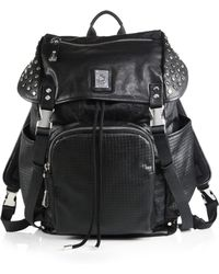 Diesel Full Metal Blust Studded Backpack - Lyst