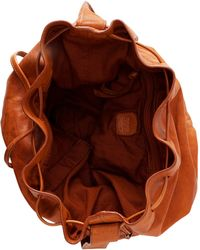 BOSS Orange - Leather Boho Bag 'Reiko' - Lyst