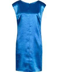Reiss 1971 Fava Metallic Shift Dress - Lyst