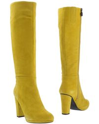 Geox Green Boots - Lyst