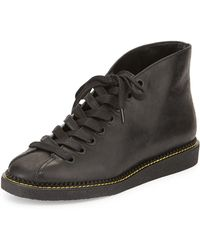 Alexander Wang Emmanuel Leather Lace-Up Boot - Lyst