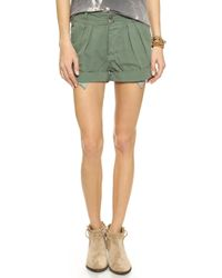 Bliss and Mischief - Jasmine Shorts - Sulpher Stone - Lyst
