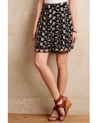 Zimmermann Midnight Garden Silk Shorts black - Lyst