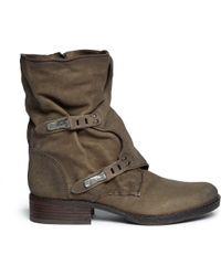 Sam Edelman Ridge Latch Strap Leather Boots - Lyst