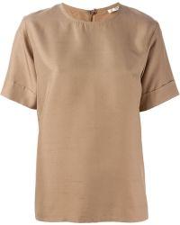 Yves Saint Laurent Vintage Short Sleeve Top - Lyst