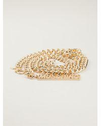 Moschino Chain Link Belt - Lyst