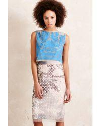 Pankaj & Nidhi - Avani Embroidered Crop Top - Lyst