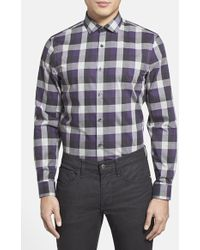 Calibrate Trim Fit Sport Shirt - Lyst