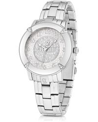 John Galliano - The Decorator Silver Tone Stainlees Steel Womens Watch - Lyst