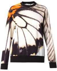 Givenchy - Butterfly-Print Sweatshirt - Lyst