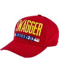 DSquared² Swagger Strapback Baseball Cap - For Men - Lyst
