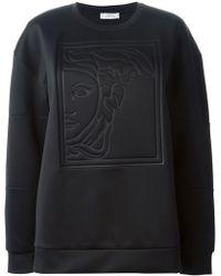 Versace Black Medusa Sweatshirt - Lyst