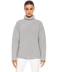Rochas Turtleneck Sweater - Lyst