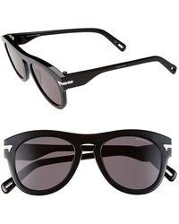G-Star RAW Men'S 'Gs603Sm' 51Mm Sunglasses - Black - Lyst
