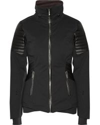 Lacroix - Distinction Faux Leather-paneled Stretch-shell Ski Jacket - Lyst