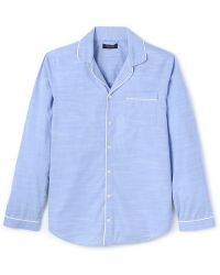 Calvin Klein Blue Pajama Shirt - Lyst