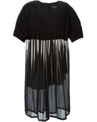 Lutz Huelle Sheer Pleated Dress - Lyst