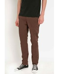 Globe - Good Stock Chinos In Brown - Lyst
