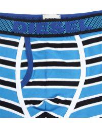 Diesel Semaji Turquoise Stripes Boxer blue - Lyst