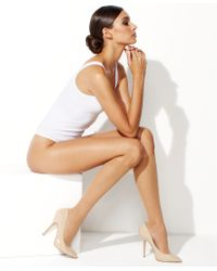 Wolford Wolford Individual 10 Knee Highs - Lyst