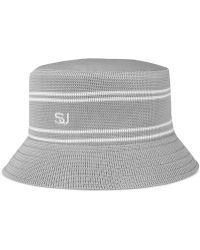 Sean John - Men s Stripe Bucket Hat - Lyst c996f0218815