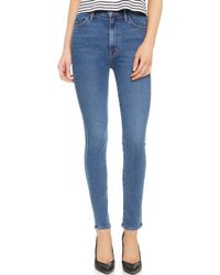 Mother Candice Swanepoel + Swooner Jeans - Model, Wanted - Lyst
