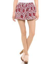 Thakoon Addition - Printed Full Shorts - Lyst