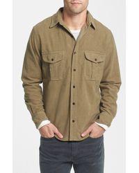 Filson Men'S 'Moleskin Seattle' Flannel Shirt - Lyst
