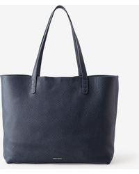 Mansur Gavriel Large Tumbled Leather Tote - Lyst