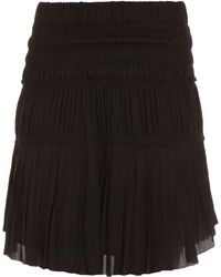 Isabel Marant Alma Ruched Skirt - Lyst