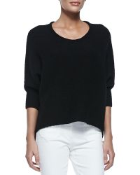 Michael Kors Dolman-sleeve Crewneck Sweater - Lyst