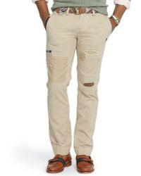 Polo Ralph Lauren Straightfit Patched Chino - Lyst
