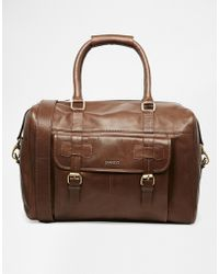 Barneys Originals - Barney's Leather Holdall - Lyst