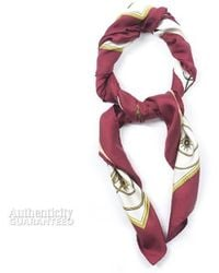 Hermes Les Voitures A Transformation Silk Scarf - Lyst