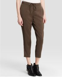 Eileen Fisher - The Fisher Project Slouchy Drawstring Ankle Trousers - Lyst