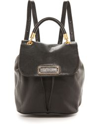 Marc By Marc Jacobs Too Hot To Handle Backpack - Black - Lyst