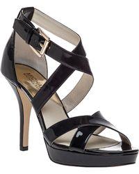 MICHAEL Michael Kors | Evie Platform Sandals | Lyst