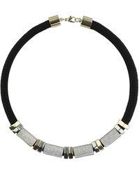 Topshop Glitter Tube Cord Collar - Lyst