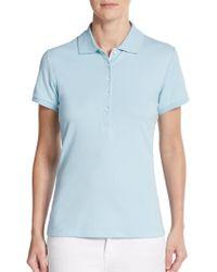HBC Sport - Cotton Pique Polo Shirt - Lyst
