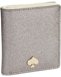 Kate Spade Glitter Bug Small Stacy Wallet - Lyst
