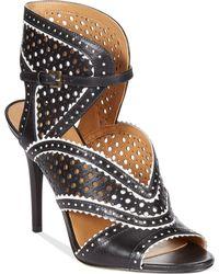 Nine West Danyell Dress Sandals black - Lyst