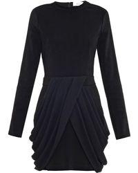A.L.C. Tolan Contrast-stripe Crepe Dress - Lyst