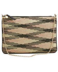M Missoni - Women's Lurex Clutch Bag - Lyst