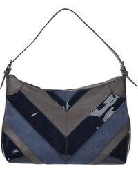 Jil Sander Navy Handbag - Lyst