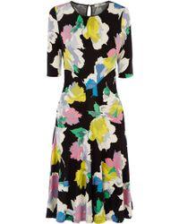 Oasis Bold Bloom Dress - Lyst