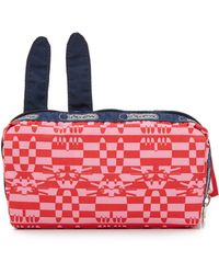 LeSportsac - Peter Jensen X Rabbit Rectangular Cosmetic Pouch - William - Lyst