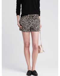 Banana Republic Heritage Printed Soft Short - Lyst